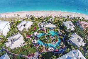 Aerial View of Ocean Club West Resort