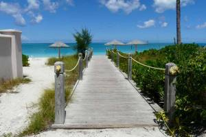 Ports of Call Resort designated area on Grace Bay Beach