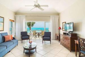 One Bedroom Suite Living Area at the Royal West Indies